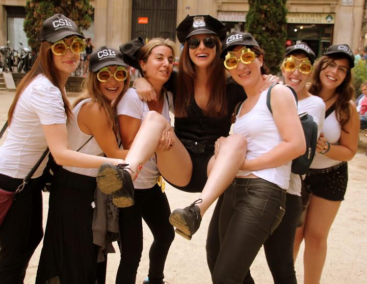 Gincana en Sitges para despedida de soltera