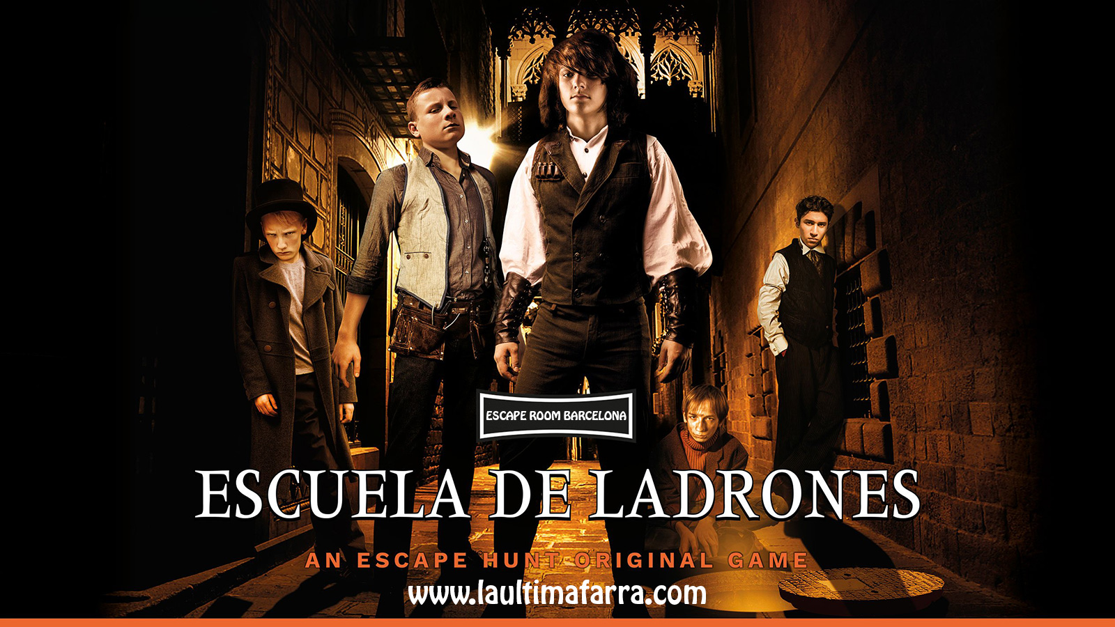 Escape Room Barcelona - Escuela de Ladrones
