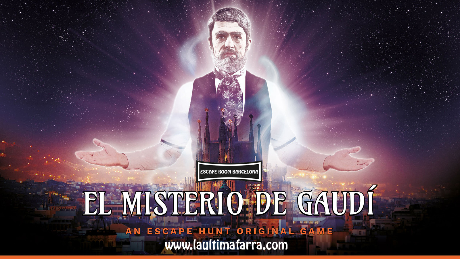 Escape Room Barcelona - Misterio de Gaudí