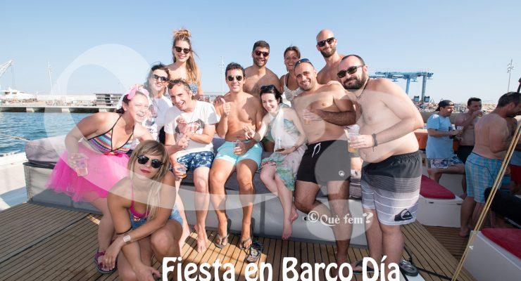 Fiesta en Barco Salou