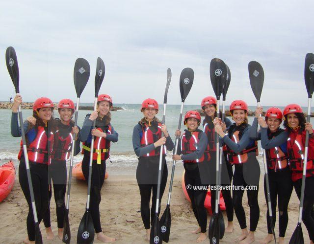 Excursión en Kayak Sitges